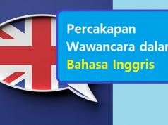 Percakapan Wawancara dalam Bahasa Inggris
