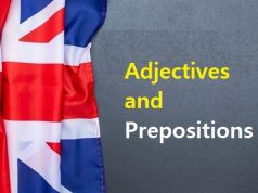 Adjectives and Prepositions