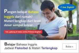 info kursus bahasa inggris online