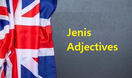 Jenis Adjectives